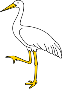 Our logo, the crane.